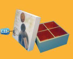 Caja para Pisco c22 publicitaria
