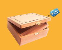 Caja para Pisco c25 publicitaria