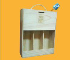 Caja para Pisco c41 publicitaria
