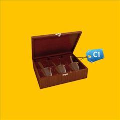 Caja para Pisco C1 publicitaria