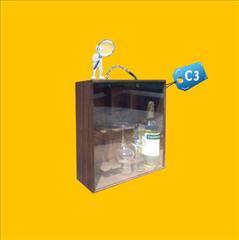 Caja para Pisco C3 publicitaria