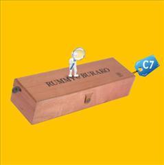 Caja para Pisco C7 publicitaria