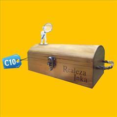 Caja para Pisco C10 publicitaria
