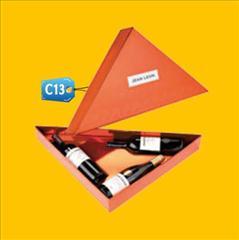 Caja para Pisco 3 botellas c13 publicitaria